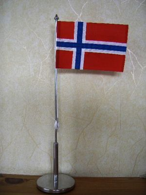 "Tableflag ""Norway"" 39cm"